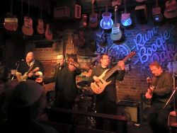 Mercury Brothers performing at Rum Boogie Cafe - International Blues Challenge Semi-finals