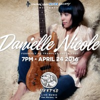 CIBS Welcomes Danielle Nicole to Lefty's on April 24