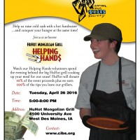 HuHot Fundraiser April 26