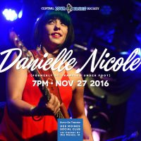 Danielle Nicole Band at Des Moines Social Club on November 27!