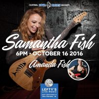Samantha Fish at Lefty's on October 16!