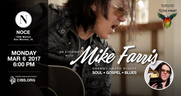 Mike Farris – March 6!