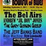 Bowlful of Blues - Sept. 3