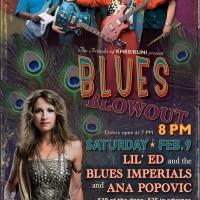 Blues Blowout Feb. 9