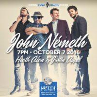 John Németh at Lefty's on October 7!